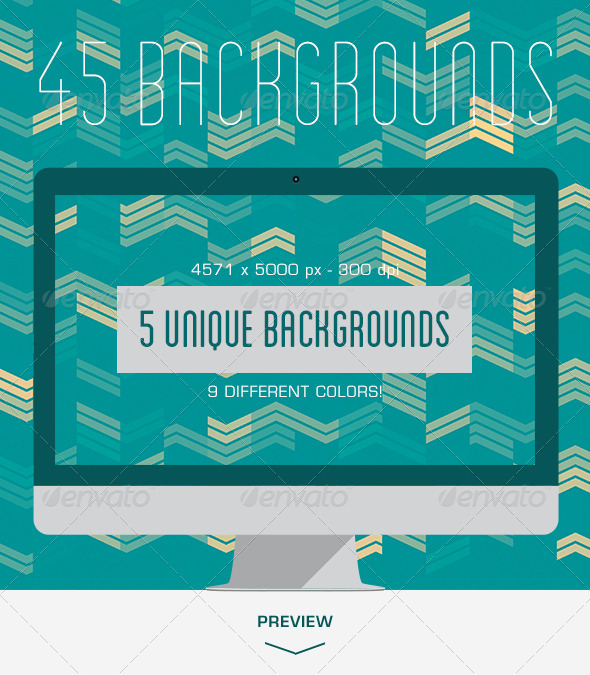GraphicRiver 45 Geometric Wavy Backgrounds 5500429