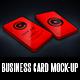 Vertical Business Card Mock-Up + Gift Card Mock-Up - GraphicRiver Item for Sale