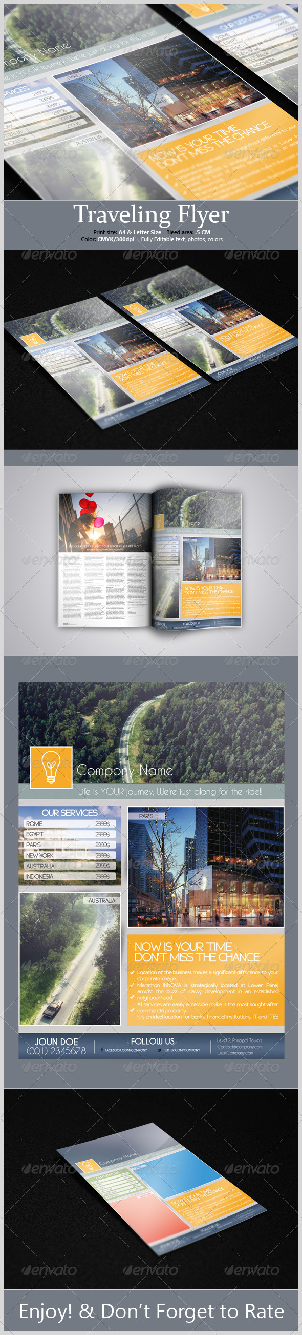 Traveling Flyer - Corporate Flyers