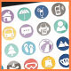 Vacation Travel Hotel Icons Optimize For Web/Print - GraphicRiver Item for Sale