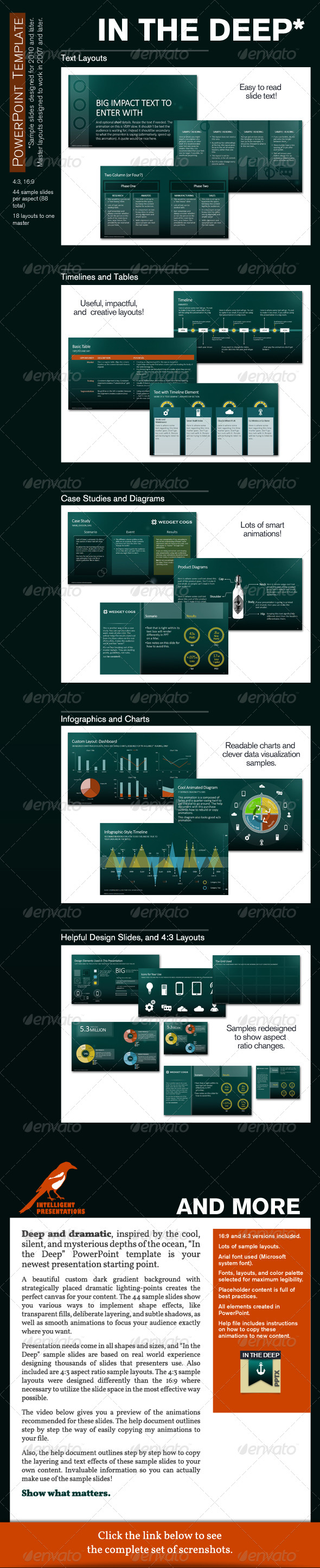 GraphicRiver In the Deep PowerPoint Presentation Template 5501330