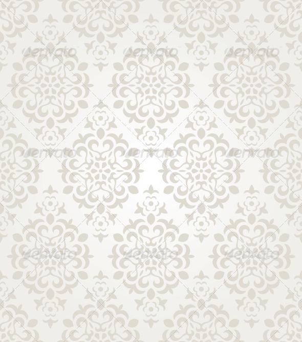 GraphicRiver Floral Vintage Wallpaper 5501329
