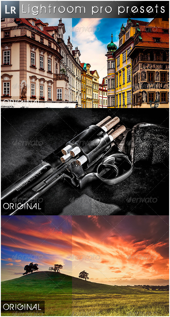 GraphicRiver 7 Mixed Pro Presets 5501359