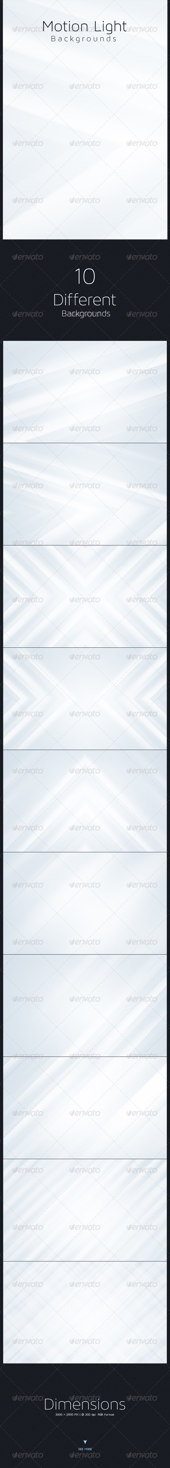 GraphicRiver Motion Light Backgrounds 5501365