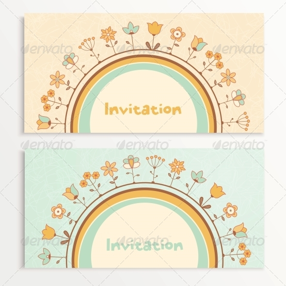 GraphicRiver Baby Shower Cards 5501399