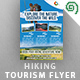 Hiking / Trekking Tourism Flyer - GraphicRiver Item for Sale