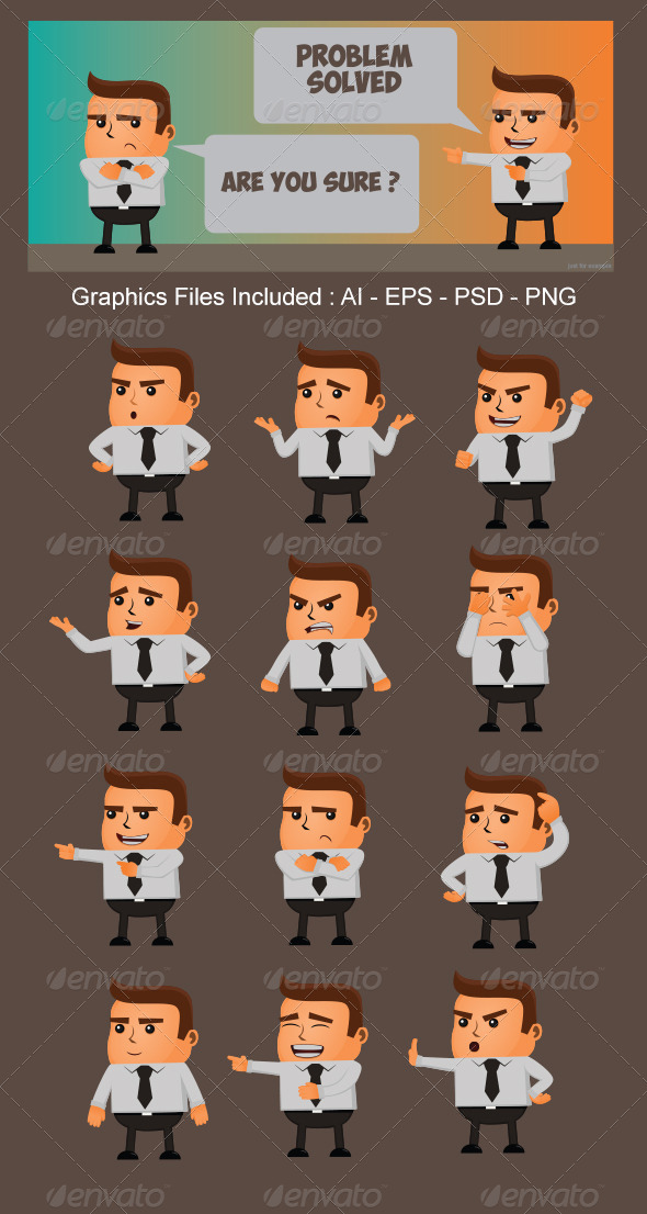 GraphicRiver Character Expression Version 6 5501694