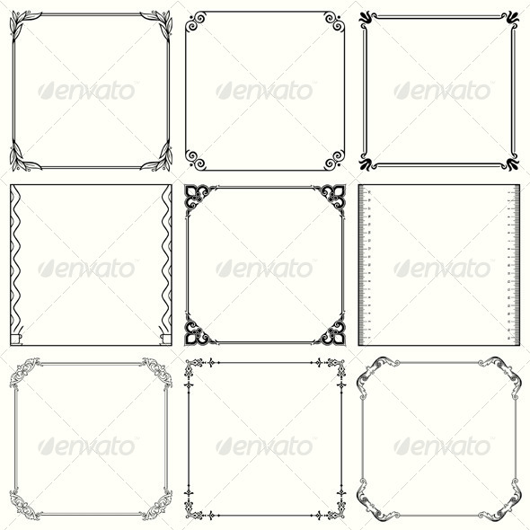 GraphicRiver Decorative Frames 5502211