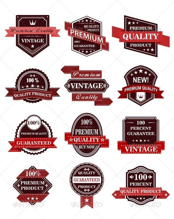 GraphicRiver Banners and Labels with Ribbons 5502554