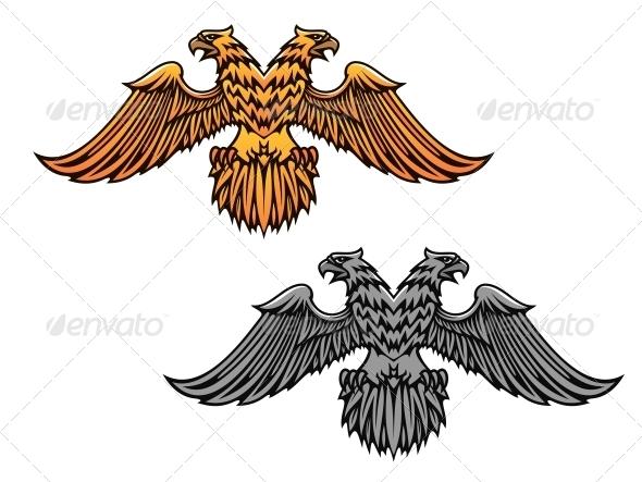 GraphicRiver Double Eagle Mascot 5502595