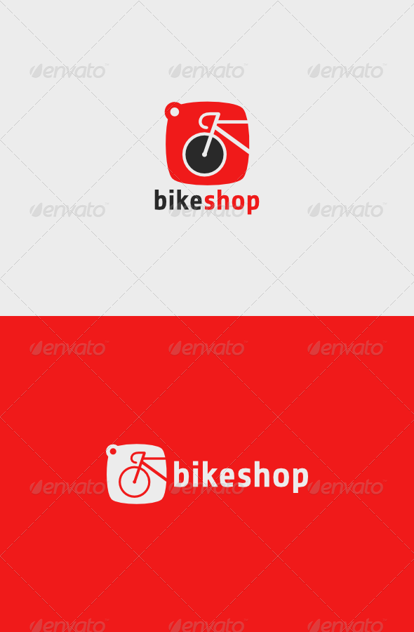 GraphicRiver Bike Shop Logo 5502656
