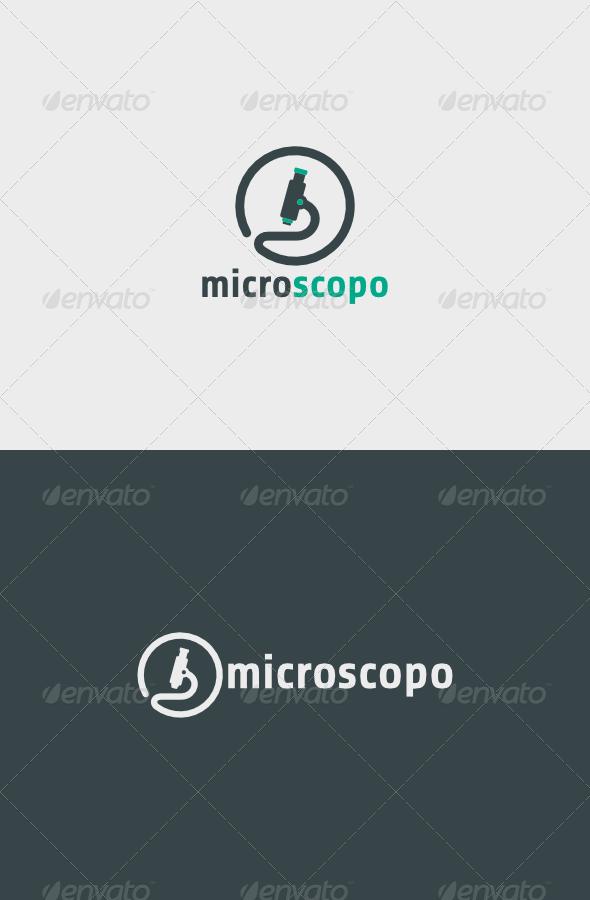 GraphicRiver Microscopo Logo 5502741