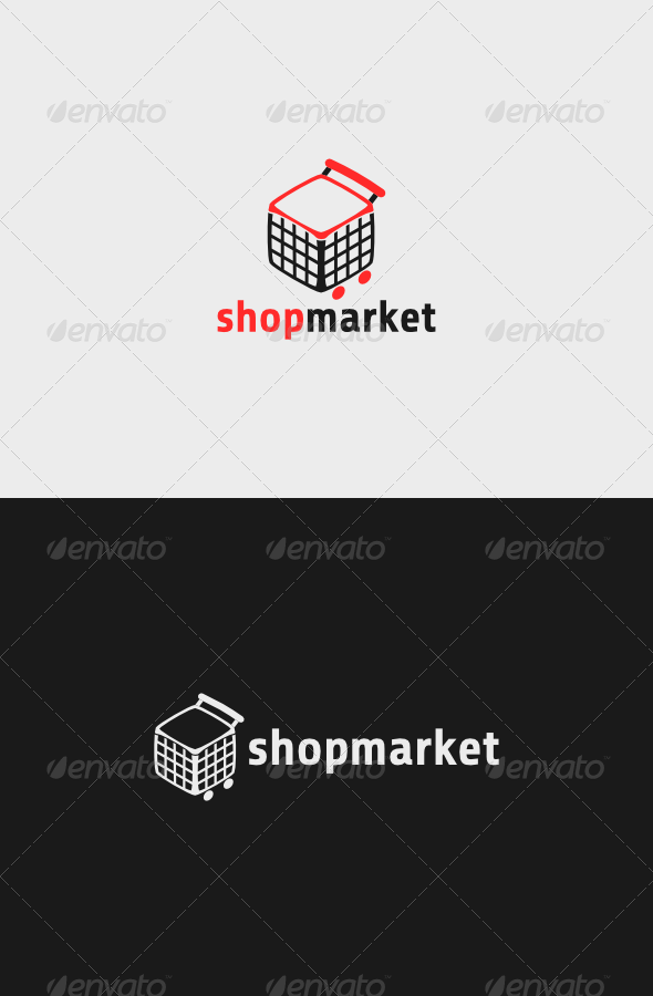 Shop Market Logo