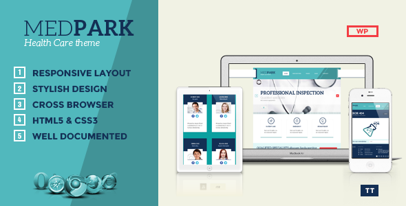 ThemeForest MedPark Responsive Medical Health WordPress Them 5503081