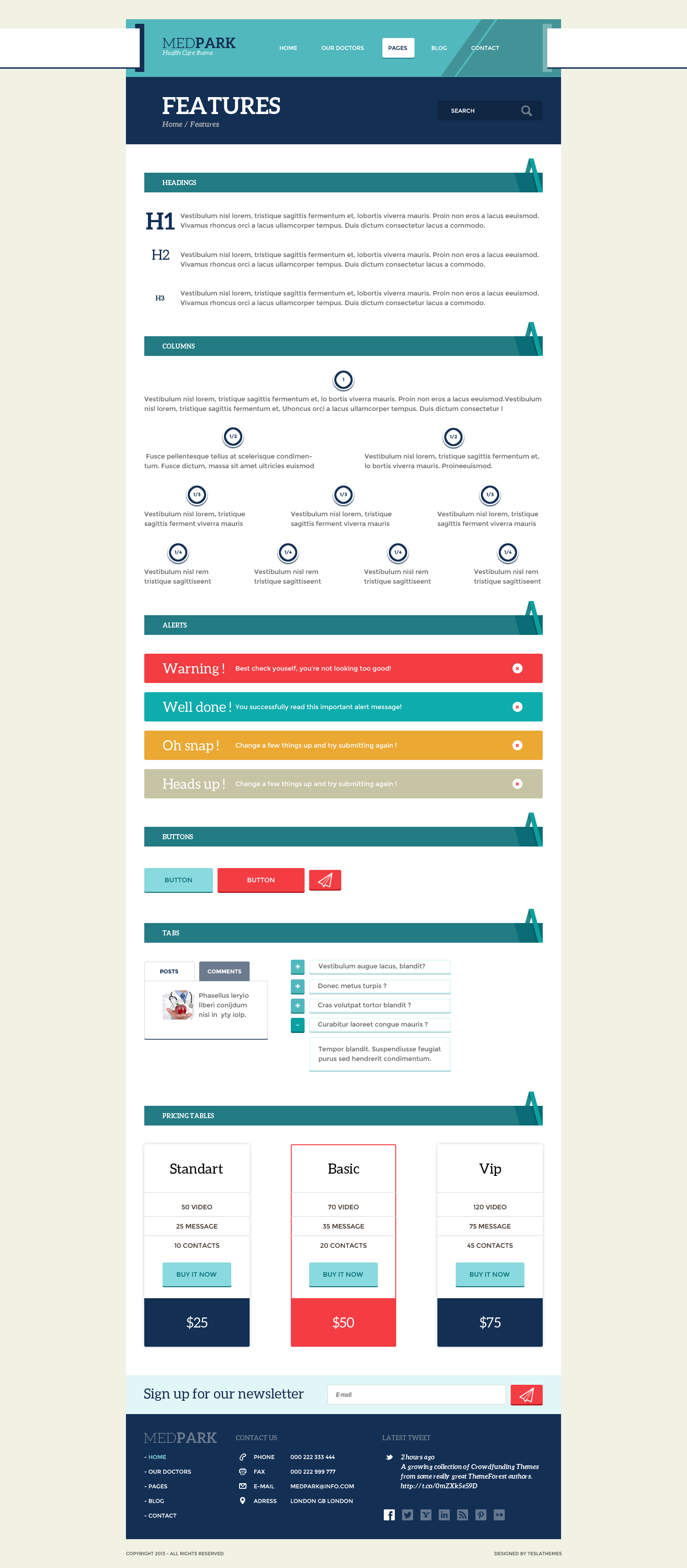 MedPark - Responsive Medical Health WP Theme