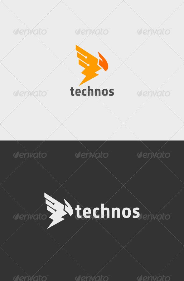 GraphicRiver Technos Logo 5503085