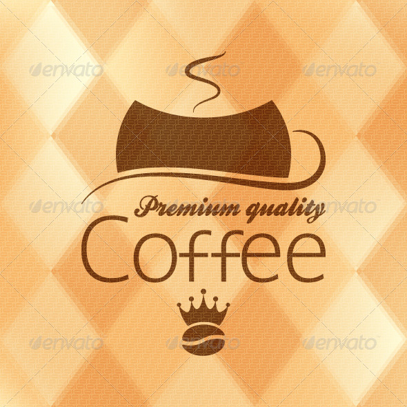 GraphicRiver Coffee Vintage Background 5503164
