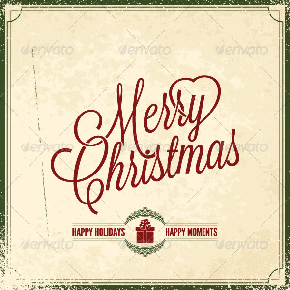 GraphicRiver Merry Christmas Holiday Background 5503221