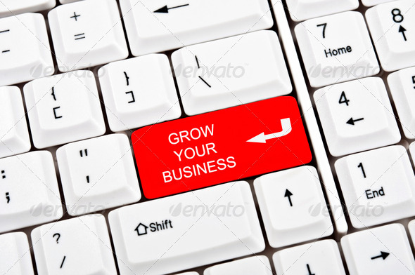 PhotoDune Grow your business key 565457