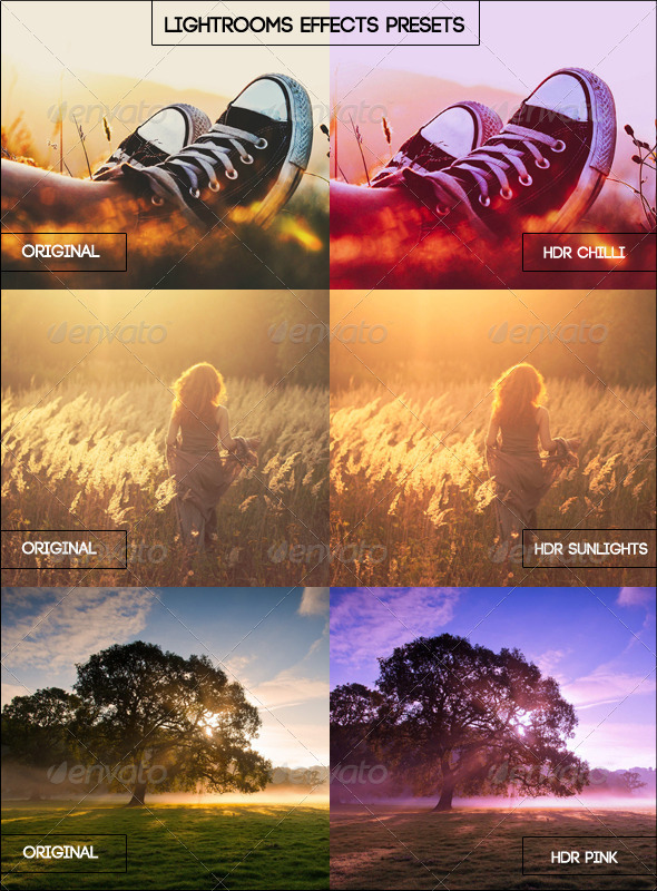 GraphicRiver HDR Lightroom Effect Presets 5503296