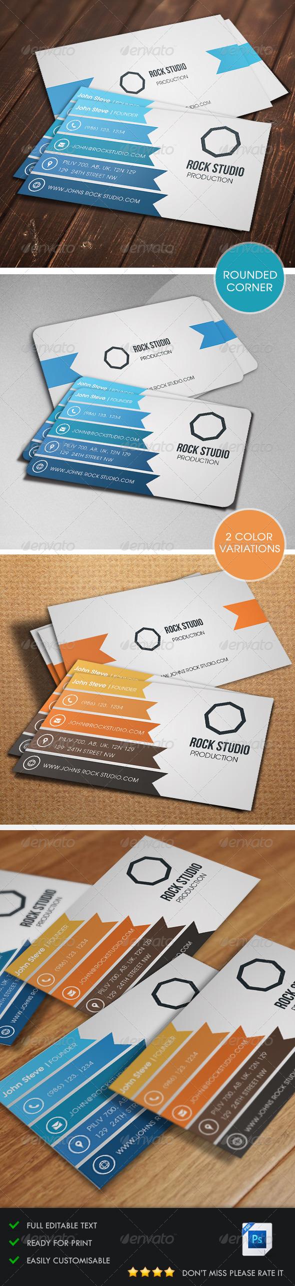 GraphicRiver Creative Business Card v2 5486397
