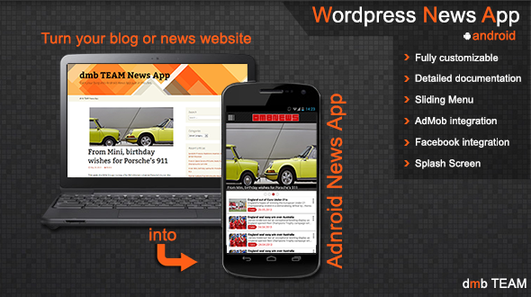 CodeCanyon Wordpress News App 5503379