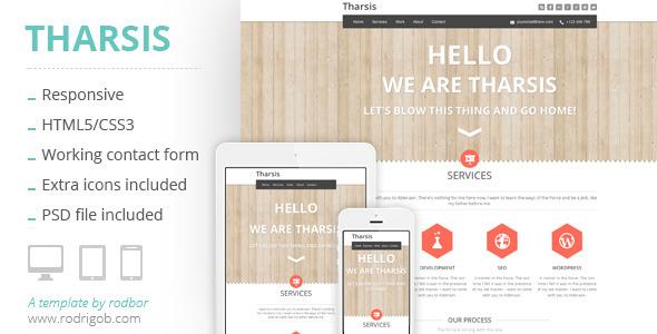 Tharsis - Responsive Portfolio Template