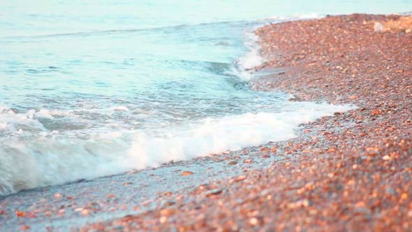 Sea Wave on Beach 1