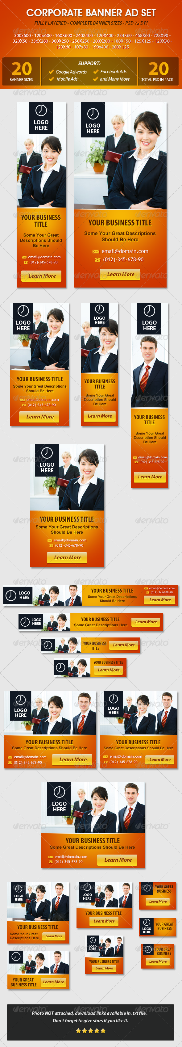 GraphicRiver Corporate Banner ad Set 5503792