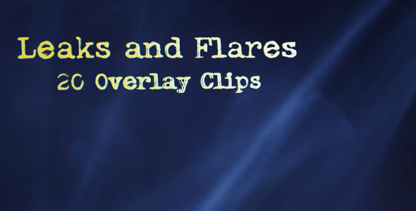 VideoHive Leaks and Flares 5504506
