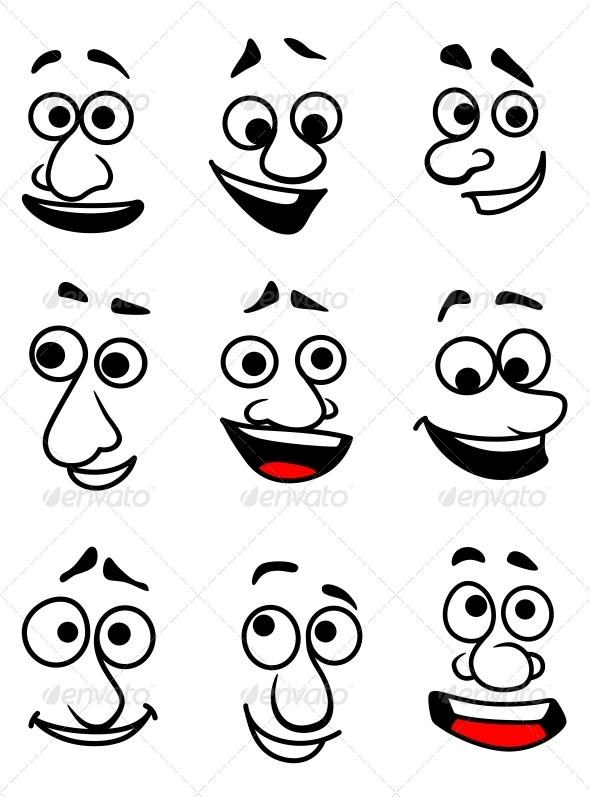 GraphicRiver Emotional Faces 5504528