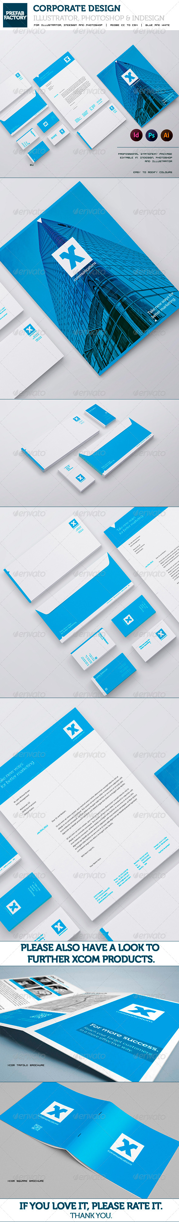 GraphicRiver Stationary and Corporate Identity Kit 5504966