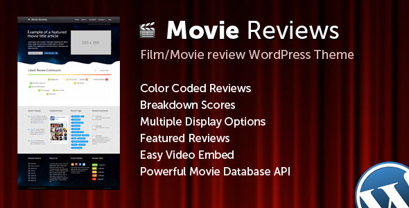 ThemeForest Movie Reviews 5417123