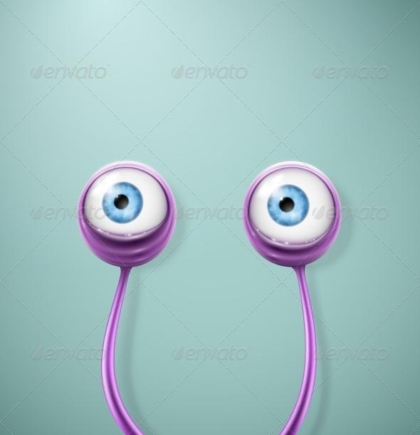 GraphicRiver Cartoon Eyes 5505025