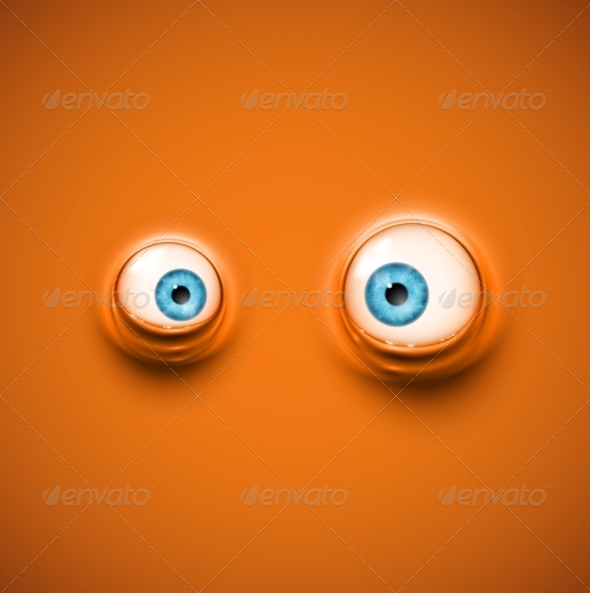 GraphicRiver Background with Eyes 5505036