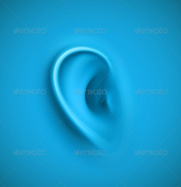 GraphicRiver Background with Ear 5505048