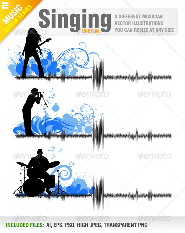 GraphicRiver Singing 5505051