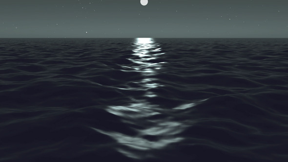 Night in High Sea