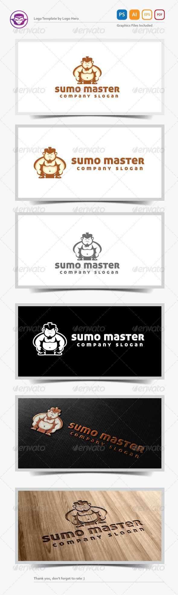 GraphicRiver Sumo Master Logo Template 5505099