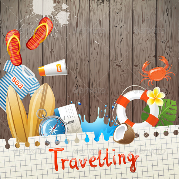GraphicRiver Travelling Background 5505136