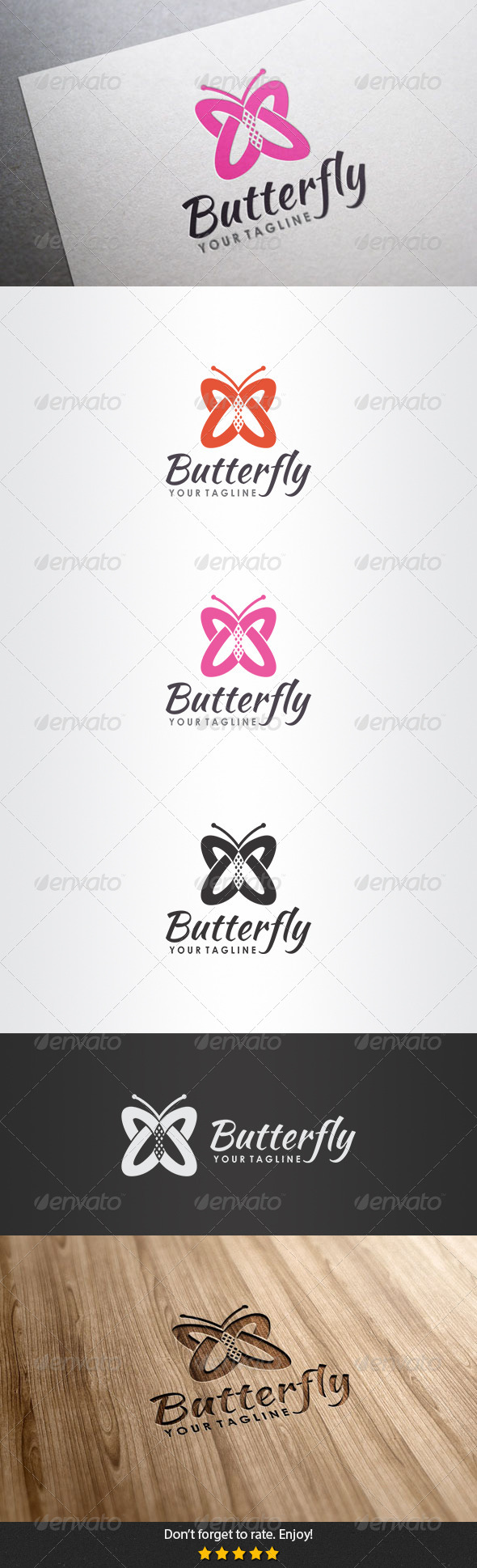 GraphicRiver Butterfly Logo 5506862