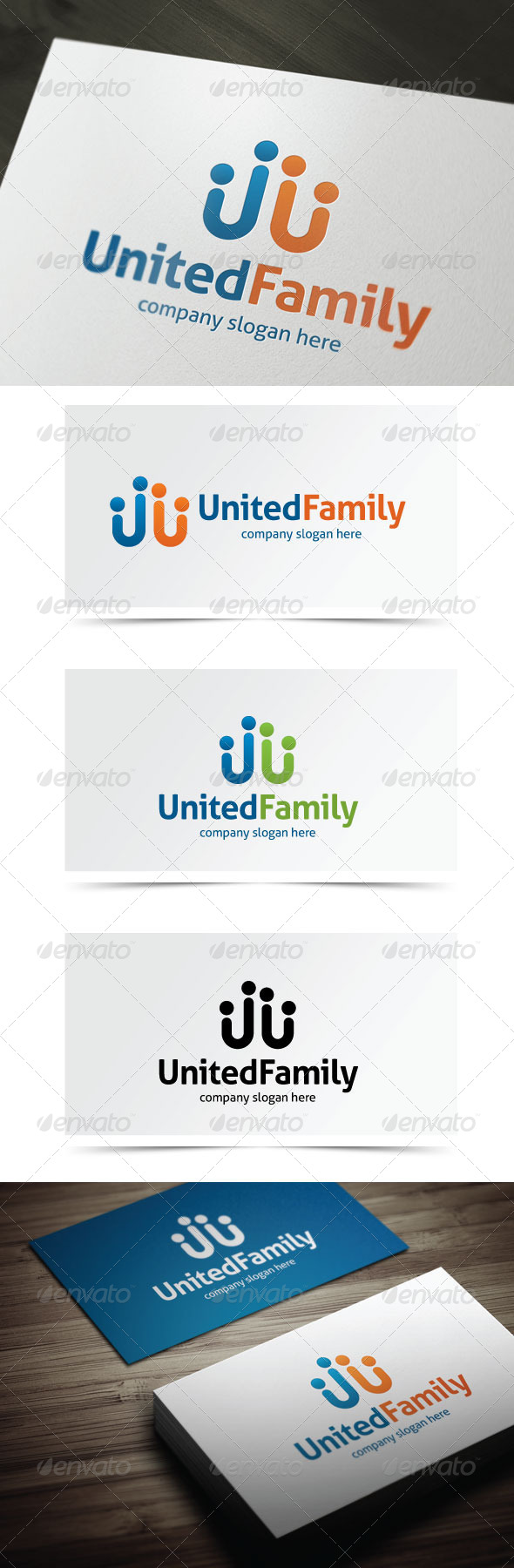 GraphicRiver United Family 5506894
