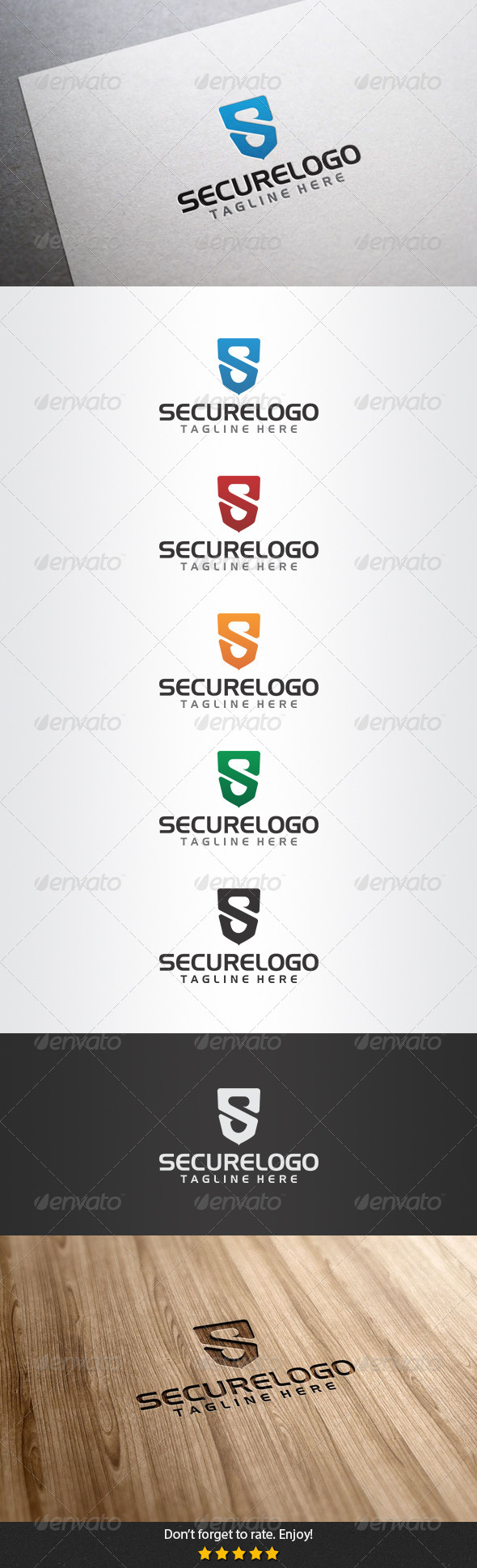 Secure Logo - Letters Logo Templates