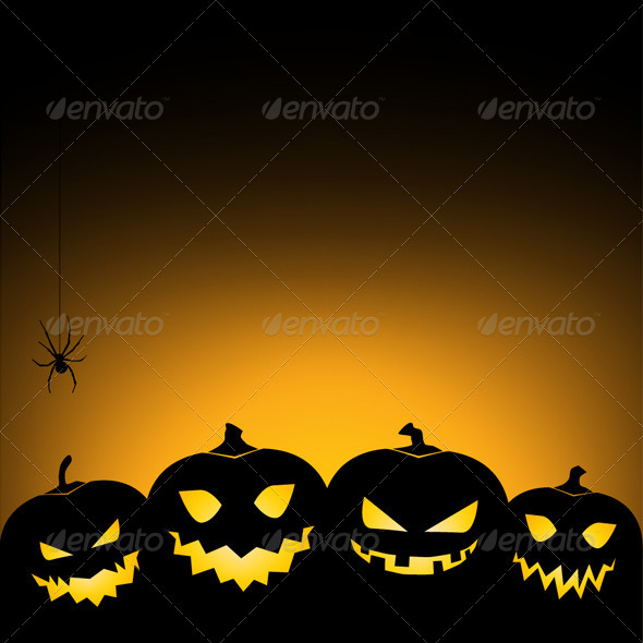 GraphicRiver Halloween Background 5506995