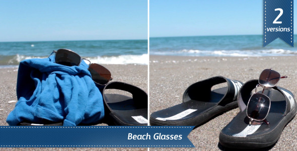 VideoHive Beach Glasses 5507033