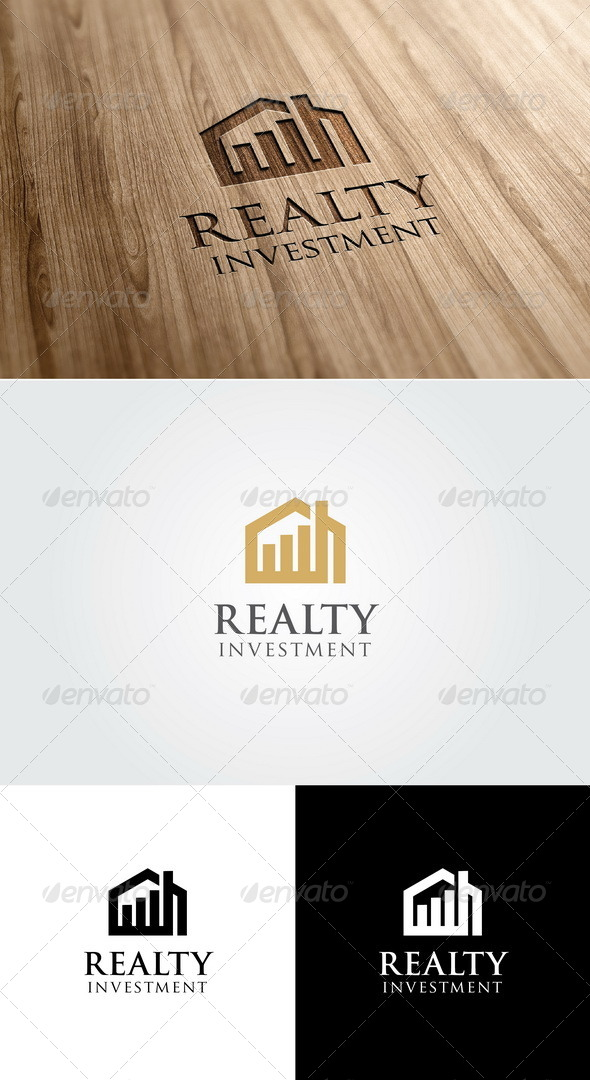 GraphicRiver Realty Investment Logo 5507150
