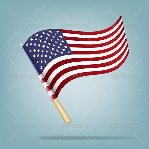 GraphicRiver American Flag 5507209