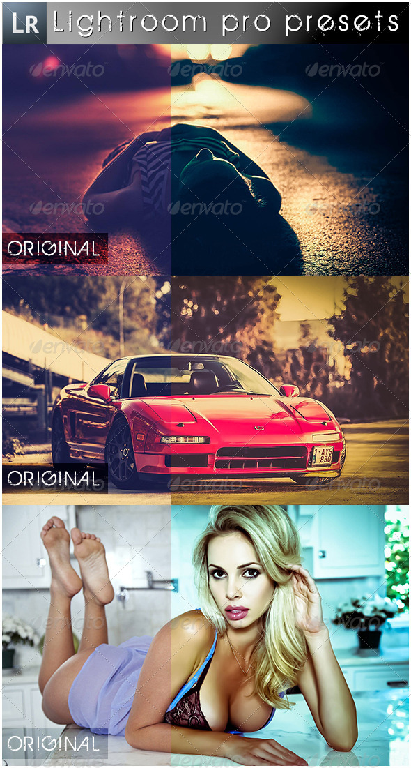 GraphicRiver 11 Mixed Pro Presets 5507360