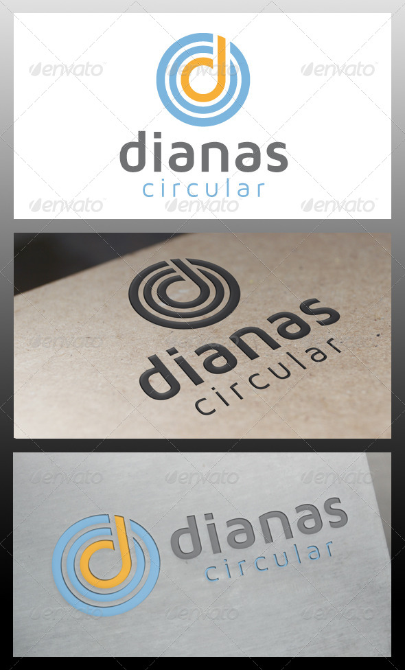 GraphicRiver Dianas Letter D Logo Template 5507413