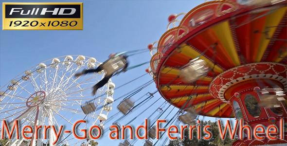 VideoHive Merry-Go-Round And Ferris Wheel 5507534
